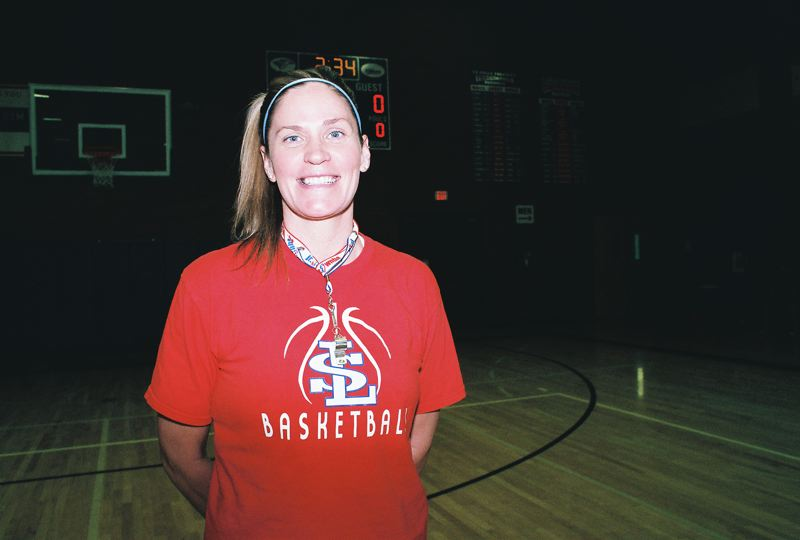 by: PHOTO BY JOHN DENNY - La Salle Coach Kelli Wedin