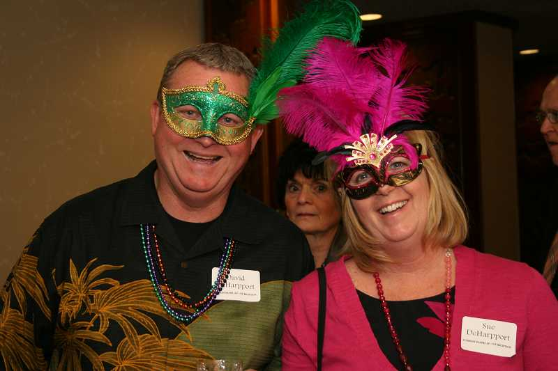 by: PHOTO -  David and Sue DeHapport enjoyed the Home Builders Foundation's annual benefit auction and dinner.