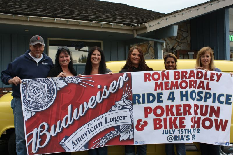 by: CONTRIBUTED PHOTO: ALLISON BRADLEY - POST PHOTO: LISA K. ANDERSON This year's poker run and bike show will take place at Ria's Bar, 39024 S.E. Proctor Blvd.