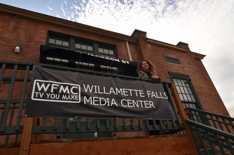 by: VERN UYETAKE - Friends of the Willamette Falls Media Center will take over the facility as of July 1.