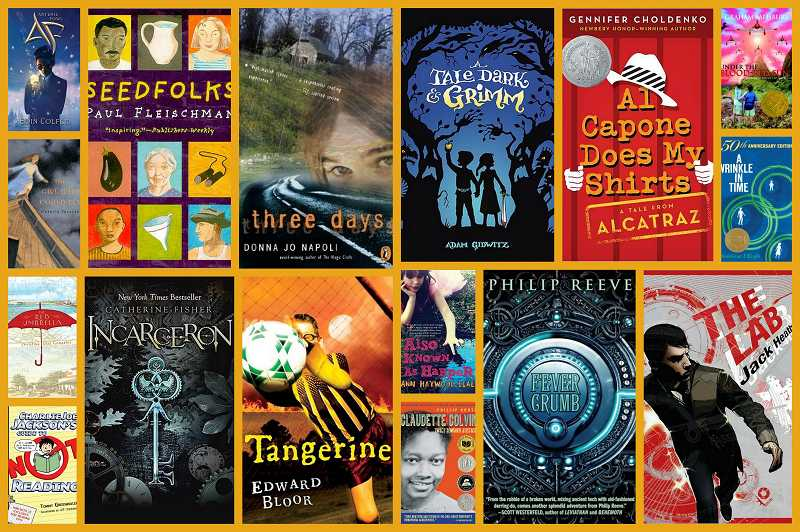 by: SUBMITTED - The Oregon Battle of the Books, which is sponsored by the Oregon Association of School Libraries, recommends books for different reading levels every year. The 2013 titles are pictured above and listed in the sidebar.