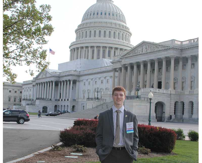 by: JENNIFER KUIPER - Chris Kuiper said he'll long remember his trip to the nation's Capital and plans on educating others about the issues involving Tourette's syndrome.