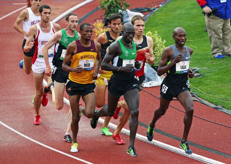 by: JOHN HOCH - Lopez Lomong, a Lake Oswego resident, took third in the 5000 meters at the Olympic trials in Eugene and earned a trip to this summers London Olympics.