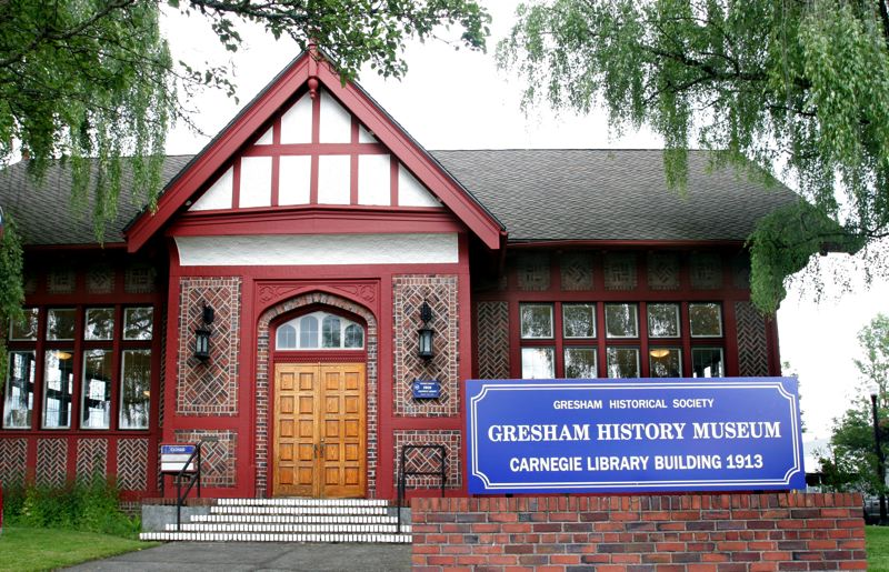 by: OUTLOOK PHOTO: JIM CLARK -  The Gresham History Museum, in downtown Gresham, will reopen on Saturday, July 7.