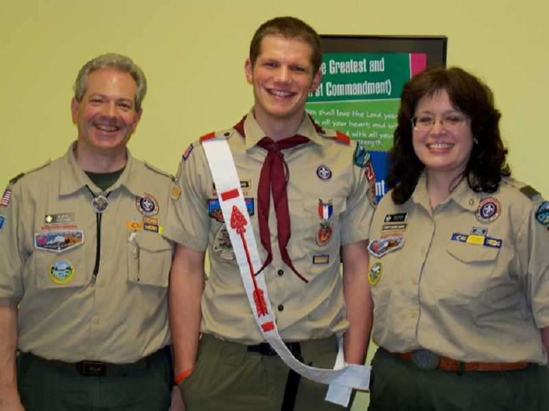 by: SUBMITTED - David Grossman recently was honored at an Eagle Court of Honor for achieving the rank of Eagle Scout.