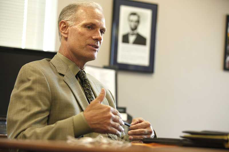 by: JON HOUSE - Tigard-Tualatin Superintendent Rob Saxton was named last week as the new head of the state's public schools system. Saxton, who previously was superintendent of the Sherwood School District, leaves for the new post next week leaving little time for the district to find an interim replacement.