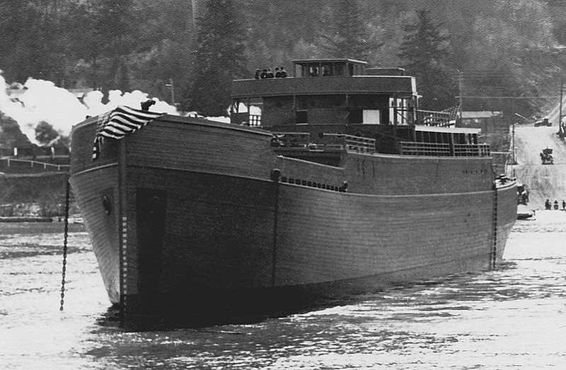 by: SUBMITTED - The SS Dumaru was launched in the Willamette River in April of 1918. But it did not survive its maiden voyage six months later.