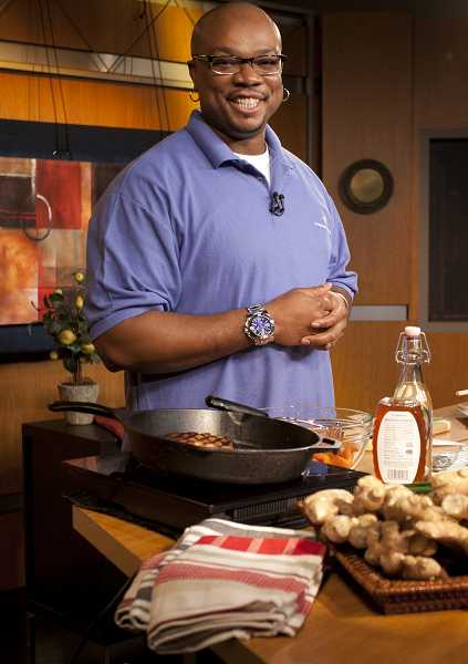 by: SUBMITTED PHOTO - Celebrity chef Aaron McCargo Jr., who develops recipes that pack bold flavor into healthful dishes, will appear at this weekend's Bite of Oregon food festival in Portland.