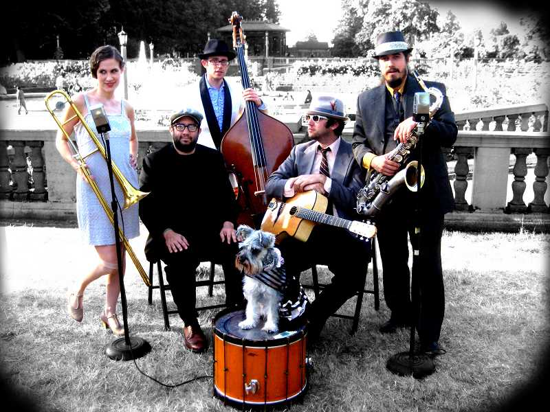 AnnaPaul and the Bearded Lady  are featured at Sunday's Moonlight Music concert at 6 p.m. at Millennium Plaza Park.