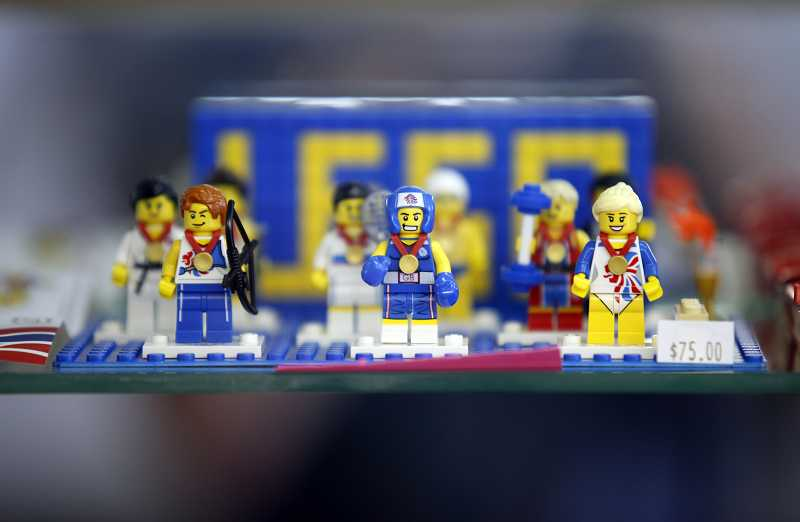 by: JONATHAN HOUSE - Bricks & Minifigs also carries rare LEGO sets that can only be found outside the U.S., including Olympic-themed ones.