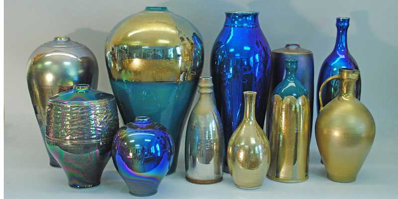 Several of Hutchinsons one-of-a-kind pieces will be on display at the open studio this Saturday.