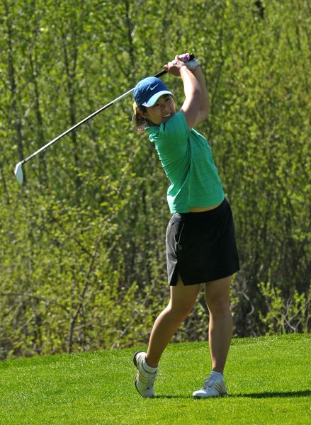 by: VERN UYETAKE - Former individual state champion Sharon Shin is one of three returning players for Cal State Northridge's golf team this fall.
