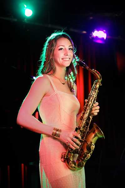 by: SUBMITTED PHOTO: KAITLIN DALE -  Hailey Niswanger, formerly of West Linn, will be one of the guest artists at this Sunday's Divas of Jazz benefit concert for the American Music Program, founded by her mentor, jazz trumpeter Thara Memory.
