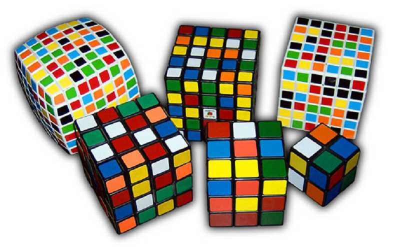 by: SUBMITTED PHOTO - There are many kinds of Rubiks Cubes.
