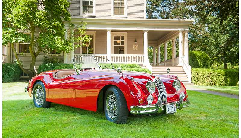 by: SUBMITTED PHOTO: BOB GIBSON - This 1955 Jaguar XK 140MC won Best in Show
