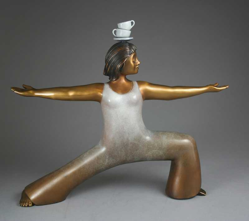 by: SUBMITTED - Ann Fleming will also be exhibiting her sculpture at the festival, including this piece, 'Warrior Woman.'