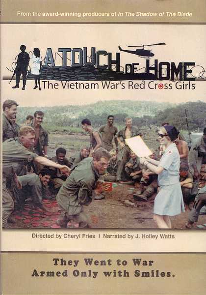 by: VERN UYETAKE - This is the cover for the DVD of 'A Touch of Home,' the documentary about the Donut Dollies in the Vietnam War. The Lake Oswego community is invited to share this experience on Sept. 7.