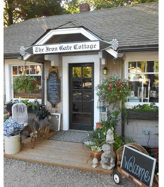 by: TIDINGS, REVIEW PHOTO: CLIFF NEWELL - There's no place like home. Except for The Iron Gate, an incredibly interesting shop that just opened in Lake Oswego on Boones Ferry Road.