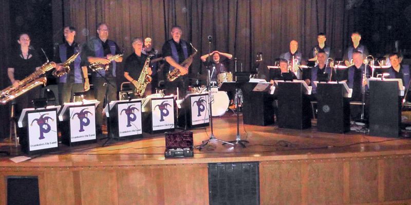 by: CONTRIBUTED PHOTO - The Pranksters Big Band features 18 members who will jump, jive and wail at the Celebration in Boring on Sept. 8.
