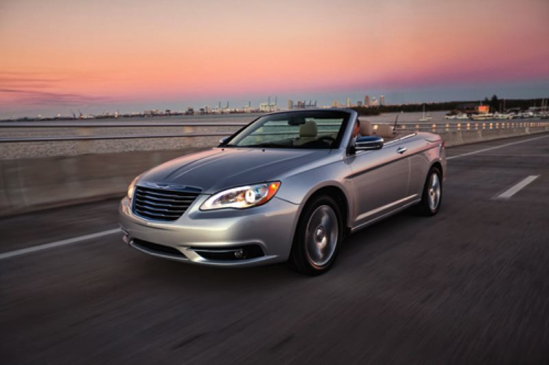 by: CHRYSLER GROUP, LLC - New styling gives Chrysler 200 a more mature look, inlcuding the convertible version.