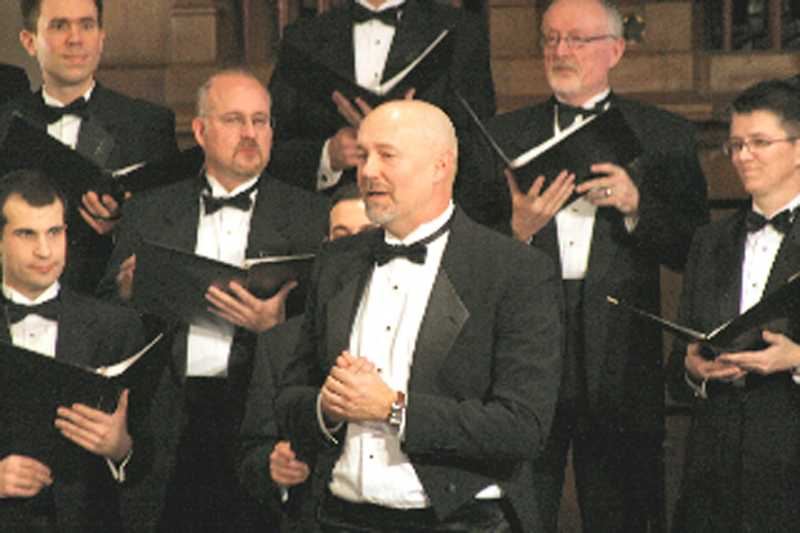by: SUBMITTED PHOTO - Bob Mensel is the artistic director of the Portland Gay Men's Chorus and minister of music at Christ Church Episcopal Parish in Lake Oswego. Tickets to the PGMC  2012-13 season are available now.