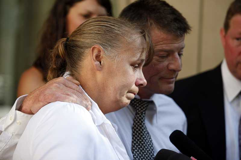 by: TIMES PHOTO: JONATHAN HOUSE - Hope Glenn said a federal jury gave her family justice by siding with their wrongful death lawsuit against the actions of Washington County sheriffs deputies in the 2006 shooting of her son Lukus.