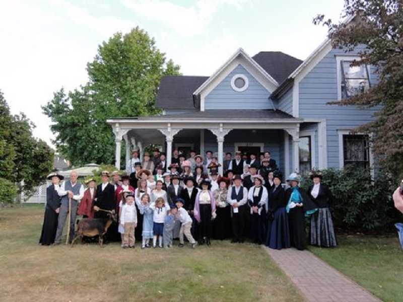 by: SUBMITTED - The 2011 cast of the Willamette Living History Tour dresses in historical clothing to set the stage of life in Willamette in 1908.