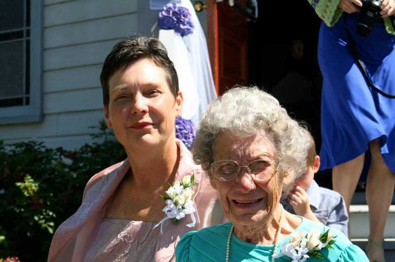 by: SUBMITTED - Barbara Tooley, left, was killed in a home invasion in 2009 in Glendale, Ore. Helen Long was shot three times and left for dead.