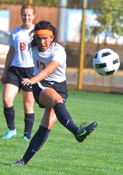 by: JOHN BREWINGTON - Ariel Viera got her season off to a good start with four goals against Cascade last week in a 10-1 win for the Lady Indians.