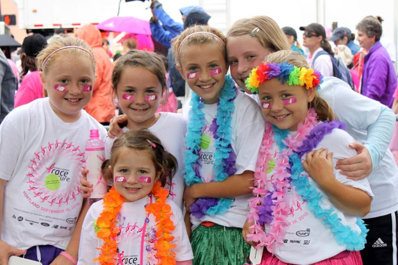 by: COURTESY OF SUSAN G. KOMEN FOR THE CURE - The Komen 'Race for the Cure,' raising significant funds and awareness for the breast cancer movement, will take place in Portland Sept. 16.