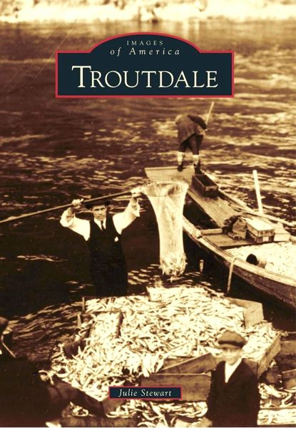 by: CONTRIBUTED PHOTO - Gresham resident Julie Stewart wrote and edited 'Troutdale,' a new edition in the 'Images of America' book series.