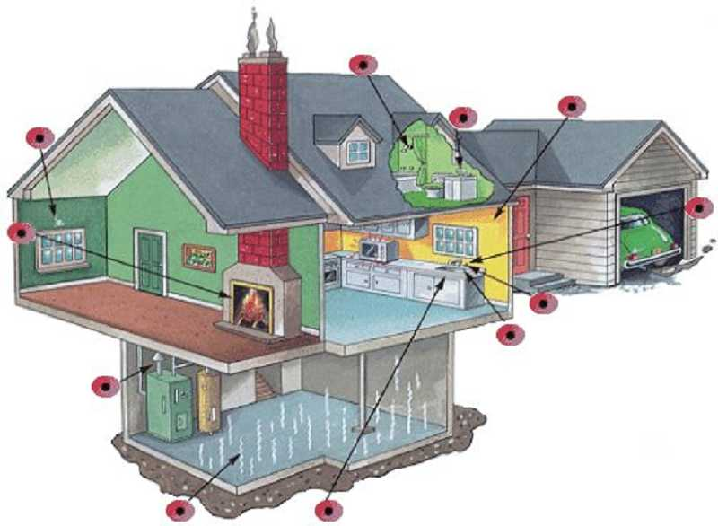by: SUBMITTED PHOTO - Look for mold spores at these spots in your home.