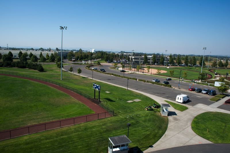 by: HILLSBORO TRIBUNE PHOTO: CHASE ALLGOOD - The future location of the Hillsboro baseball stadium.