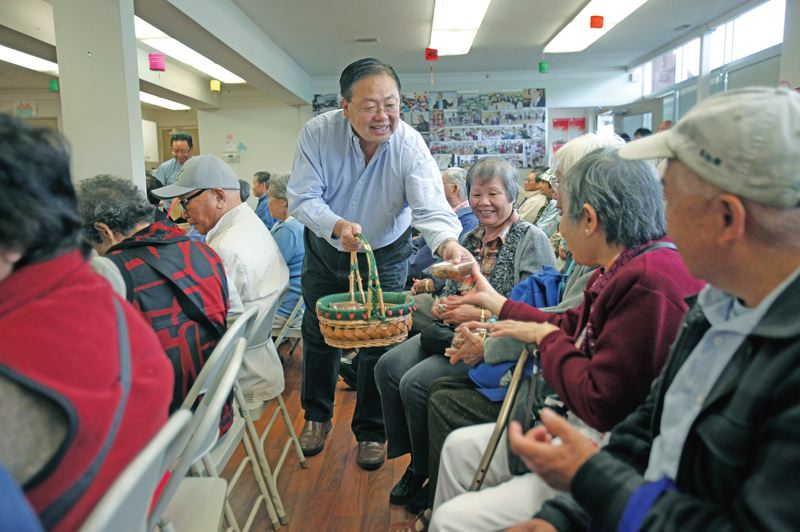 by: TRIBUNE PHOTO: JONATHAN HOUSE - Chinese community leader Stephen Ying has had to help Chinese women left stranded and isolated after being brought here by American men.