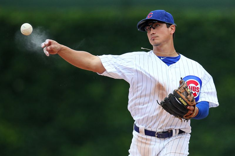 by: STEPHEN GREEN - Darwin Barney of the Chicago Cubs has had a record-breaking season at second base.