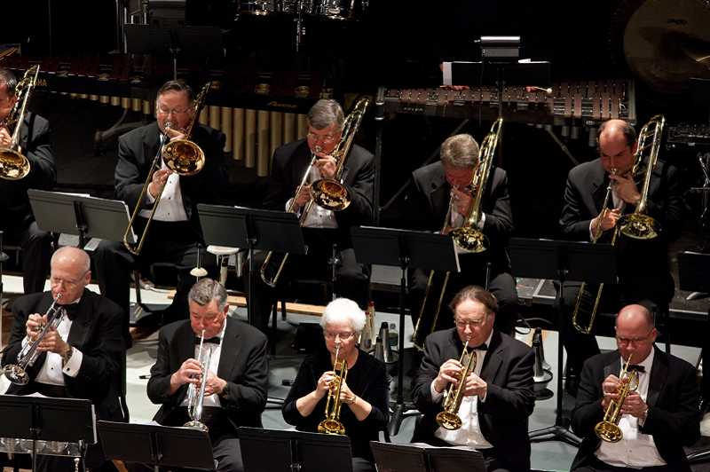 by: SUBMITTED PHOTO - The Millennium Dance Band, an ensemble featuring members of the Lake Oswego Millennium Concert Band, will perform at the LOACC on Oct. 12.
