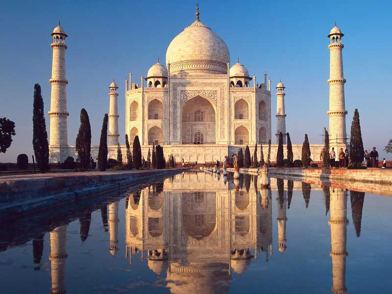 by: SUBMITTED PHOTO - Marge Russell said the Taj Mahal in India was just as exquisite as she dreamed it would be.