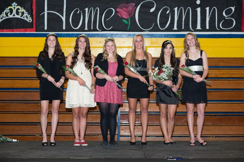 by: CHASE ALLGOOD - Banks High School's homecoming court was announced on Monday, and includes (left to right): Lauren Birr, Chelsea Dunthorn, Maddison Kellas, Aubrey Rue, Jaden Smith and Victoria Schmidlin.