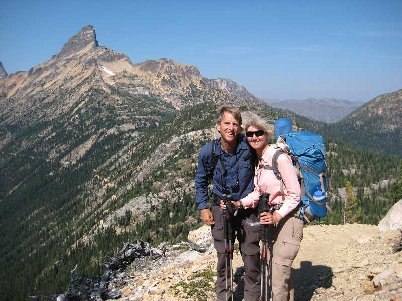 by: SUBMITTED PHOTO - Miesen walked the entire 2,650-mile Pacific Crest Trail from Mexico to Canada.