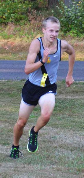 by: JOHN BREWINGTON - Bryan Strang has taken the lead for the St. Helens boys' cross country team this season.