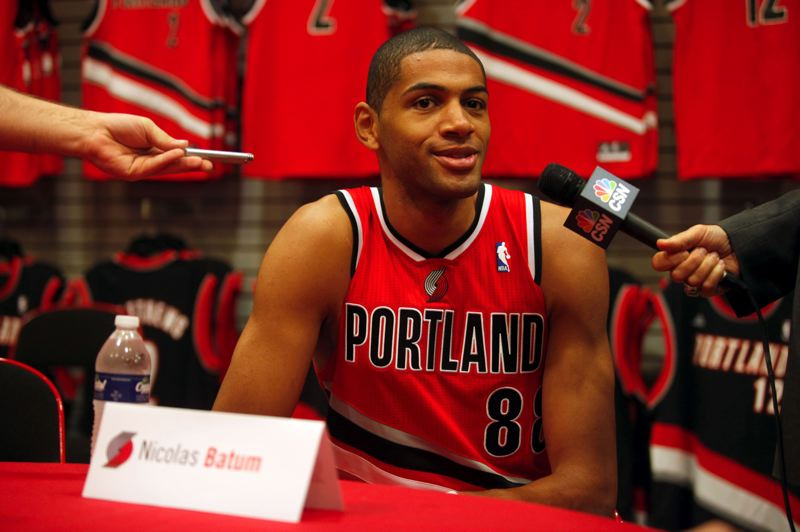 by: TRIBUNE PHOTO: CHRISTOPHER ONSTOTT - Nicolas Batum says being France's No. 2 option behind guard Tony Parker in the London Olympics was a 'good warm-up' for the No. 2 role he hopes to assume behind Portland's LaMarcus Aldridge this season.