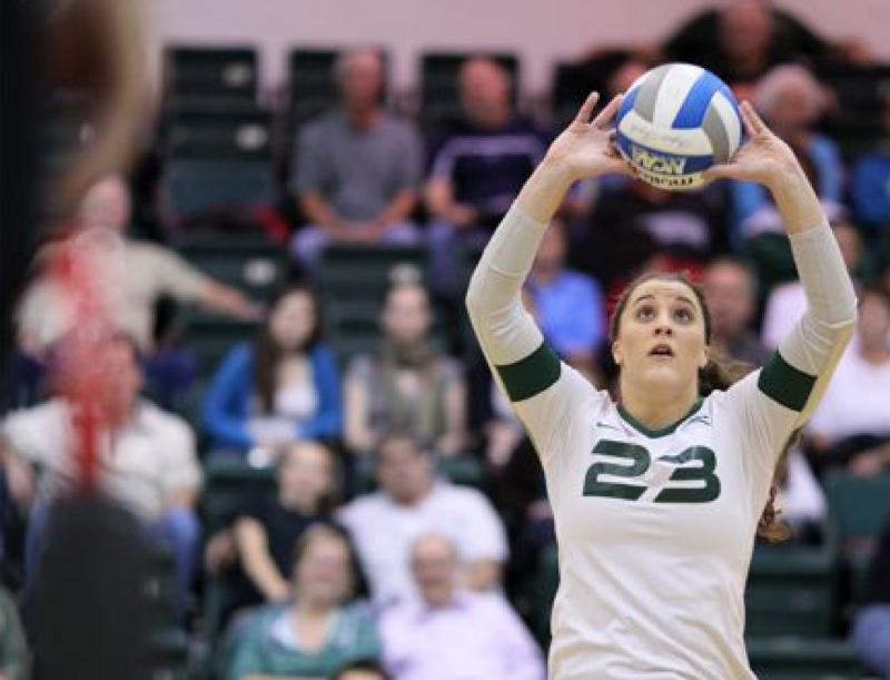 by: COURTESY OF SCOTT LARSON - Garyn Schlatter's play has helped Portland State start 8-0 in the Big Sky Conference for the first time.