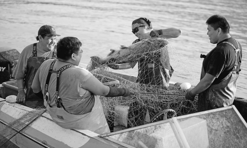 by: TRIBUNE PHOTO: CHRIS ONSTOTT -  Tribal gillnetters on the Columbia River wouldn't be directly affected by a commercial gillnetting ban that will appear on the November ballot, but tribes oppose the idea and fear they'll be targeted next.