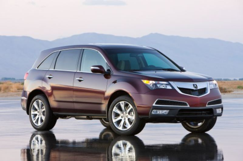 by: HONDA AMERICA MOTOR COMPANY - The styling of the 2012 Acura MDX strikes a balance between sporty and formal.