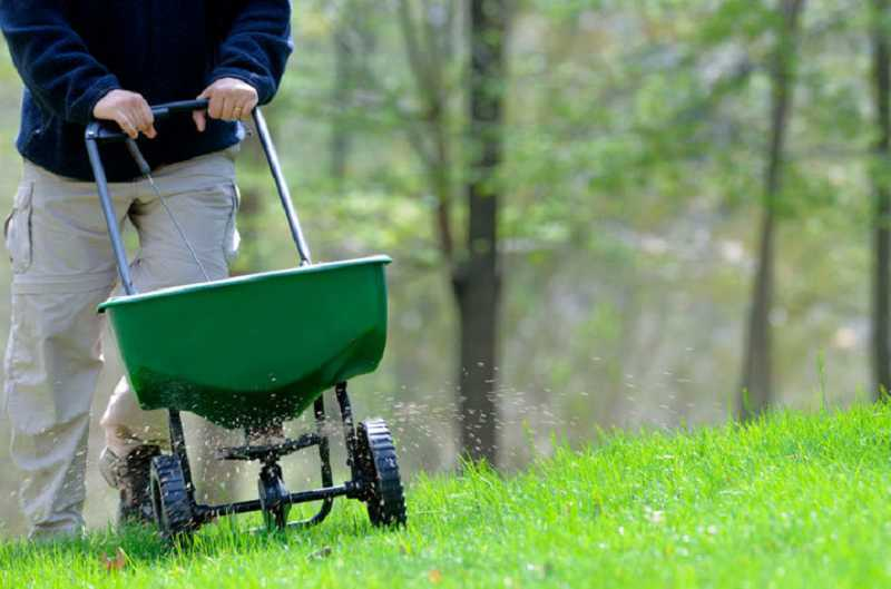 by: SUBMITTED PHOTO - Fall fertilization helps lawns recover from summer stress, encourages root growth, thickens your grass stand and prepares the lawn for winter.