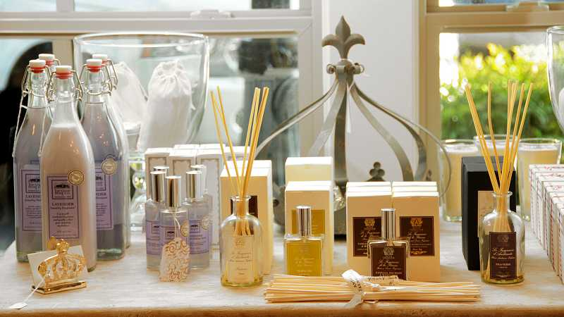 by: REVIEW, TIDINGS PHOTO: VERN UYETAKE - Celery Rose offers candles and reed diffusers to scent your home.