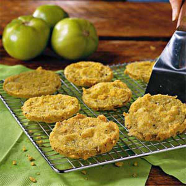 by: SUBMITTED PHOTO - Fried Green Tomatoes are a delicious way to use unripened tomatoes. They can be made with any color of tomatoes.