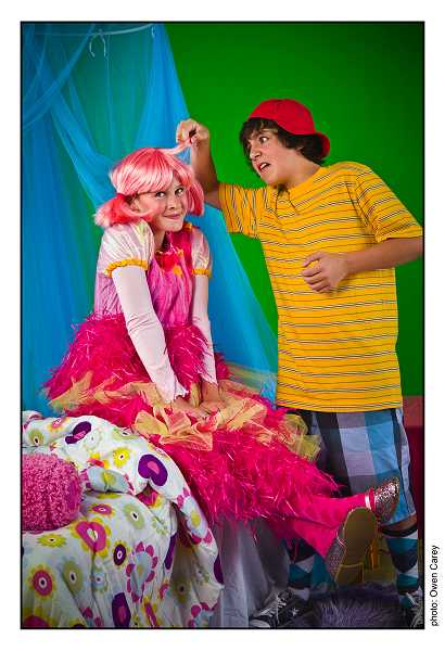 by: SUBMITTED PHOTO: OWEN CAREY - Annabel Cantor and Madison Wray share the role of Pinkalicious. Blake Peebles plays the younger brother, Peter.