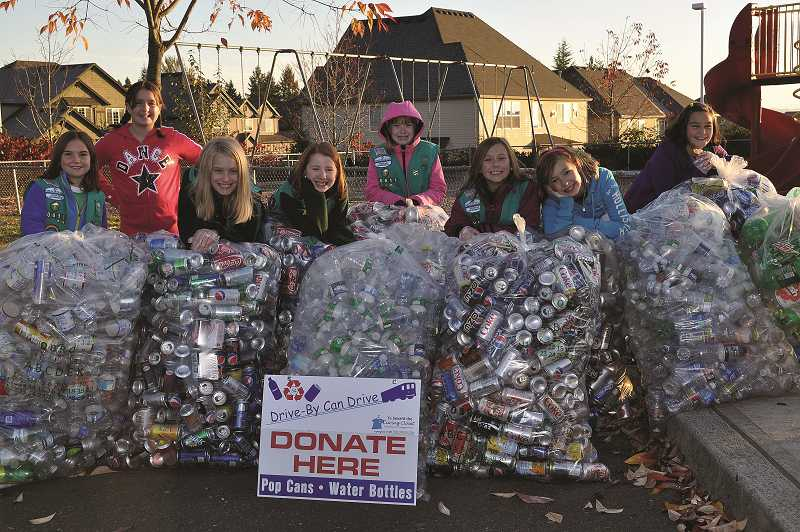 by: SUBMITTED PHOTO - SUBMITTED PHOTO The Caring Closet invites the public to join students in donating refundable cans and water bottles at participating Tigard and Tualatin schools.