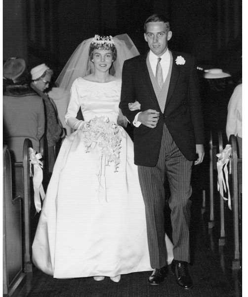 by: SUBMITTED PHOTO - The Winstons were married on Oct. 13, 1962, the day after the famous Columbus Day storm in Portland.